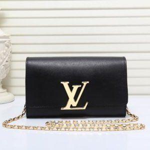 New LV women's Black Shoulder Bag